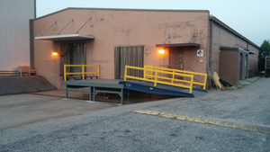 Steel Platforms /  Mobile Dock Platforms | Yard Ramps | Dock Plates | Dock Boards | Mezzanines | Steel Dock Board 2