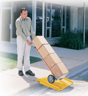 Curb Ramps Hand Truck Curb Ramps Poly Curb Ramps