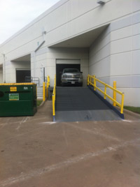 Steel Platforms /  Mobile Dock Platforms | Yard Ramps | Dock Plates | Dock Boards | Mezzanines | Steel Dock Board 3