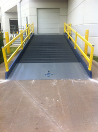Steel Platforms /  Mobile Dock Platforms | Yard Ramps | Dock Plates | Dock Boards | Mezzanines | Steel Dock Board 4