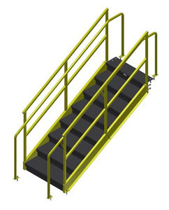 Mezzanines / Steel Structures | Yard Ramps | Dock Plates | Dock Boards | Mezzanines | Steel Dock Board 4