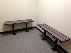 Prisoner Restraint Bench | Yard Ramps | Dock Plates | Dock Boards | Mezzanines | Steel Dock Board 4