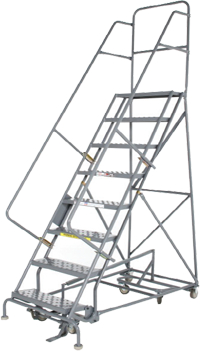 All Directional Forward Descent Safety Angle Rolling Ladder