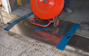 Product Photos in High Resolution   Yard Ramps   Dock Plates   Dock Boards   Mezzanines   Steel Dock Board 7