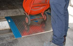 Product Photos in High Resolution | Yard Ramps | Dock Plates | Dock Boards | Mezzanines | Steel Dock Board 8