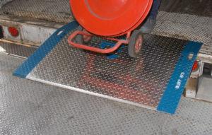 Product Photos in High Resolution | Yard Ramps | Dock Plates | Dock Boards | Mezzanines | Steel Dock Board 9