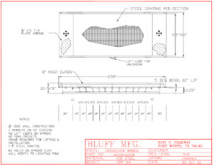 Helpful Product Photos for Installation and Use | Yard Ramps | Dock Plates | Dock Boards | Mezzanines | Steel Dock Board 5