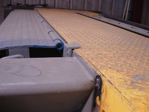 Helpful Product Photos for Installation and Use | Yard Ramps | Dock Plates | Dock Boards | Mezzanines | Steel Dock Board 11