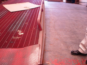 Helpful Product Photos for Installation and Use | Yard Ramps | Dock Plates | Dock Boards | Mezzanines | Steel Dock Board 24