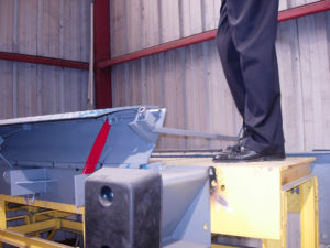 Helpful Product Photos for Installation and Use | Yard Ramps | Dock Plates | Dock Boards | Mezzanines | Steel Dock Board 13