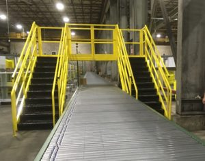 Conveyor Crossovers Warehouse Handling Equipment