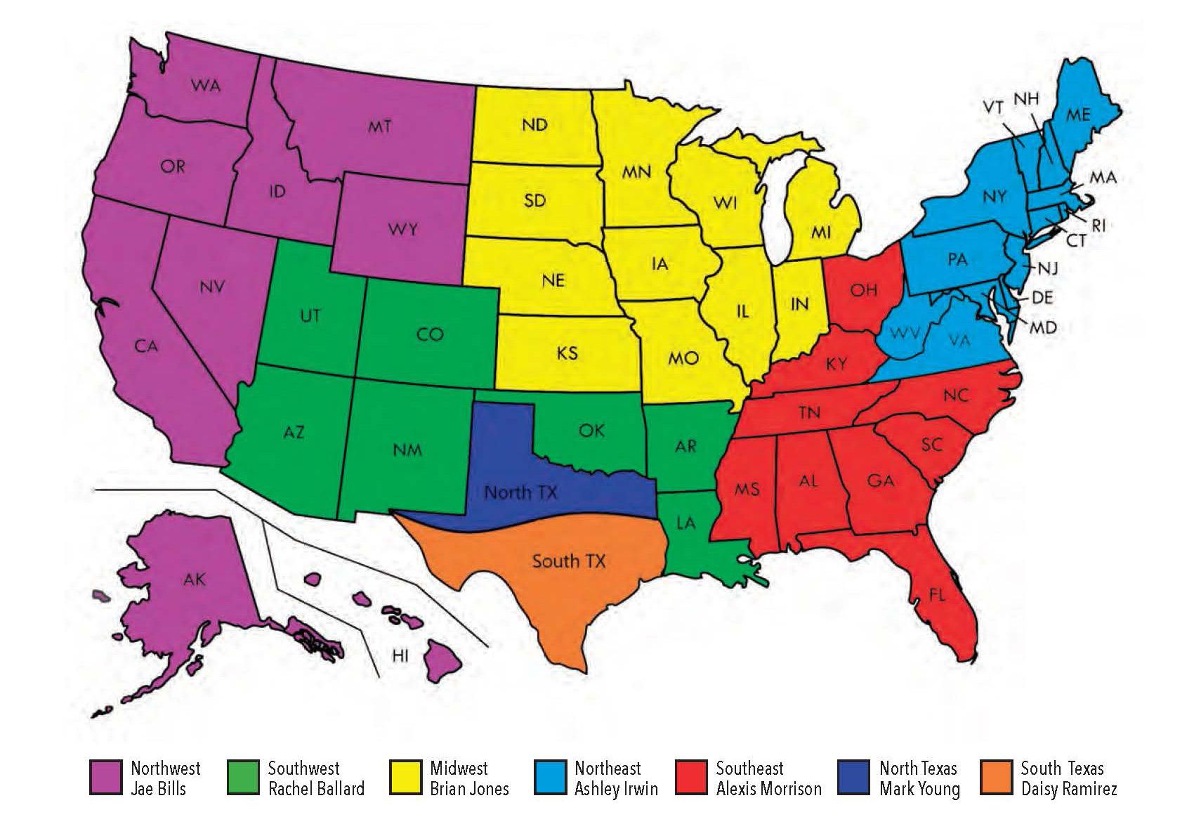 Bluff territory Map